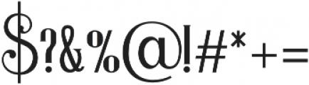 Magnolia regular otf (400) Font OTHER CHARS