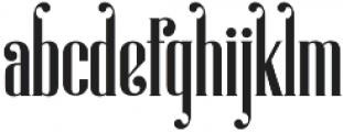 Magnolia regular otf (400) Font LOWERCASE