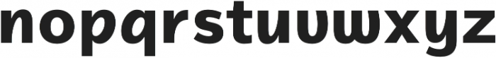 Magnum Sans Alfa Extra Bold otf (700) Font LOWERCASE