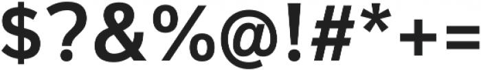 Magnum Sans Alfa Semi Bold otf (600) Font OTHER CHARS