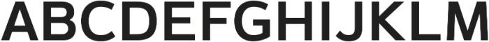 Magnum Sans Alfa Semi Bold otf (600) Font UPPERCASE