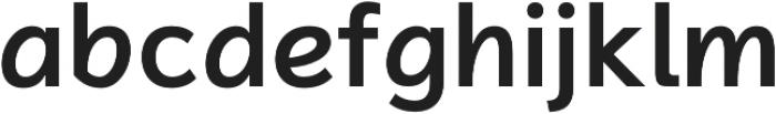Magnum Sans Alfa Semi Bold otf (600) Font LOWERCASE