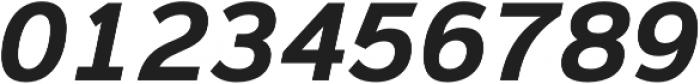 Magnum Sans Bold Oblique otf (700) Font OTHER CHARS