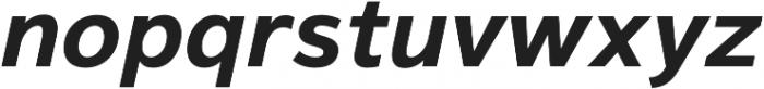 Magnum Sans Bold Oblique otf (700) Font LOWERCASE