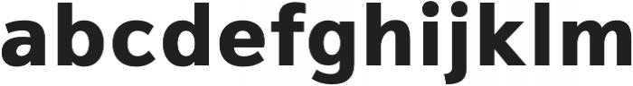 Magnum Sans Extra Bold otf (700) Font LOWERCASE