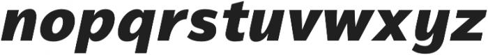 Magnum Sans Heavy Italic otf (800) Font LOWERCASE