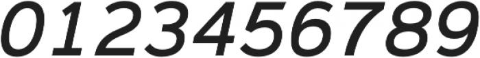 Magnum Sans Medium Oblique otf (500) Font OTHER CHARS