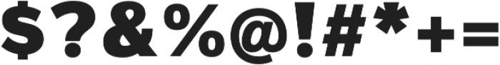 Magnum Sans Pro Alfa Black otf (900) Font OTHER CHARS