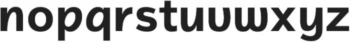 Magnum Sans Pro Alfa Bold otf (700) Font LOWERCASE