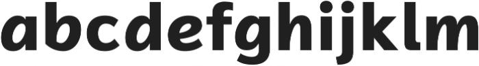 Magnum Sans Pro Alfa Extra Bold otf (700) Font LOWERCASE