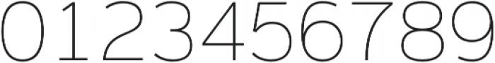 Magnum Sans Pro Alfa Thin otf (100) Font OTHER CHARS