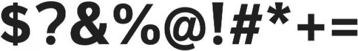 Magnum Sans Pro Bold otf (700) Font OTHER CHARS