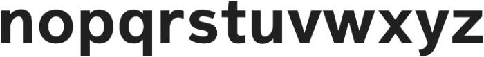 Magnum Sans Pro Bold otf (700) Font LOWERCASE