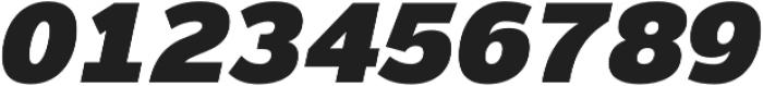 Magnum Sans Pro Extra Black Oblique otf (900) Font OTHER CHARS