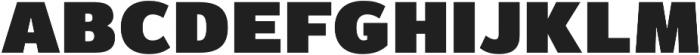 Magnum Sans Pro Extra Black otf (900) Font LOWERCASE