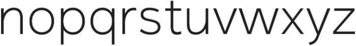 Magnum Sans Pro Extra Light otf (200) Font LOWERCASE