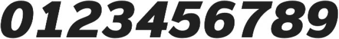 Magnum Sans Pro Heavy Oblique otf (800) Font OTHER CHARS