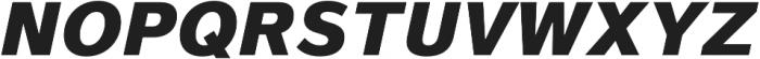 Magnum Sans Pro Heavy Oblique otf (800) Font UPPERCASE