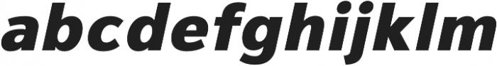 Magnum Sans Pro Heavy Oblique otf (800) Font LOWERCASE