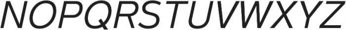 Magnum Sans Pro Light Italic otf (300) Font UPPERCASE