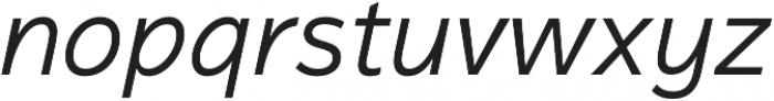 Magnum Sans Pro Light Italic otf (300) Font LOWERCASE