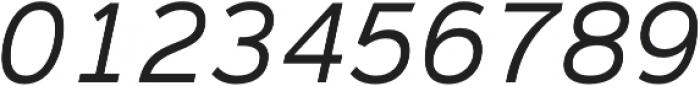 Magnum Sans Pro Light Oblique otf (300) Font OTHER CHARS