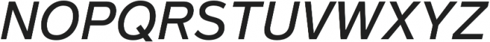 Magnum Sans Pro Medium Italic otf (500) Font UPPERCASE