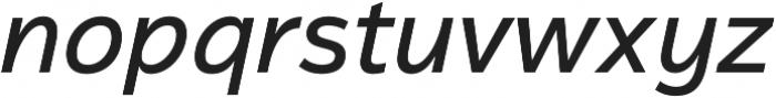 Magnum Sans Pro Medium Italic otf (500) Font LOWERCASE