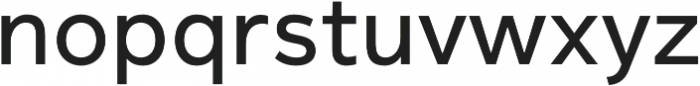 Magnum Sans Pro Medium otf (500) Font LOWERCASE