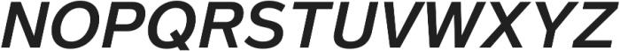 Magnum Sans Pro Semi Bold Oblique otf (600) Font UPPERCASE