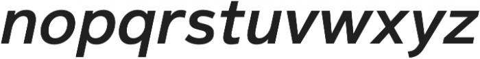 Magnum Sans Pro Semi Bold Oblique otf (600) Font LOWERCASE