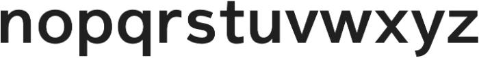 Magnum Sans Pro Semi Bold otf (600) Font LOWERCASE