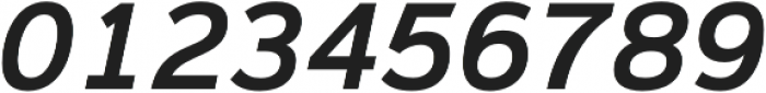Magnum Sans Semi Bold Italic otf (600) Font OTHER CHARS
