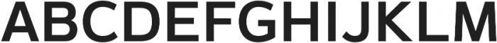 Magnum Sans Semi Bold otf (600) Font UPPERCASE