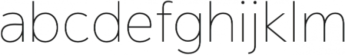 Magnum Sans Thin otf (100) Font LOWERCASE