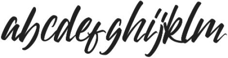 Magraes otf (400) Font LOWERCASE