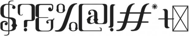 Mahaputra Regular otf (400) Font OTHER CHARS