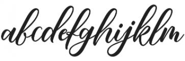 Mahligai Script otf (400) Font LOWERCASE