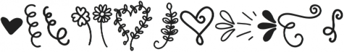 Maid Of Honor Doodles otf (400) Font UPPERCASE