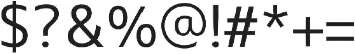 Maiden Light otf (300) Font OTHER CHARS