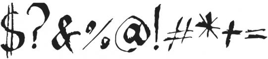 Maika Regular otf (400) Font OTHER CHARS