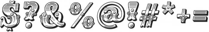 Main Event Regular Italic otf (400) Font OTHER CHARS