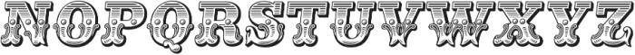 Main Event Regular Italic otf (400) Font UPPERCASE