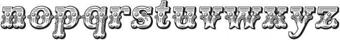 Main Event Regular Italic otf (400) Font LOWERCASE