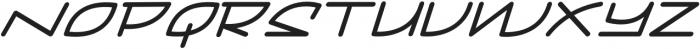 Mainline Italic otf (400) Font UPPERCASE