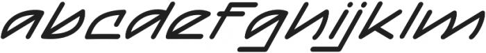 Mainline Italic otf (400) Font LOWERCASE