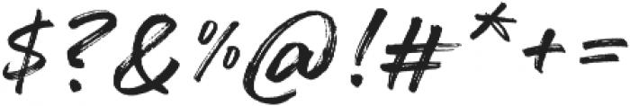 Mainsail Script otf (400) Font OTHER CHARS