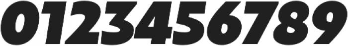 Maipo Sans Heavy Italic otf (800) Font OTHER CHARS
