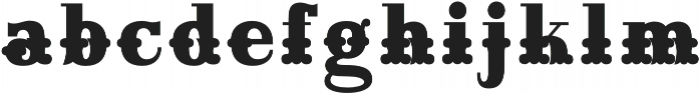 Maison Luxe Fill Regular otf (400) Font LOWERCASE