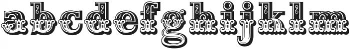 Maison Luxe Regular otf (400) Font LOWERCASE